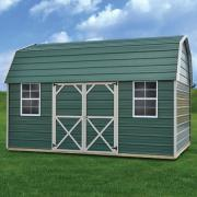 Derksen 0004 metal side lofted barn thmb