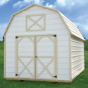 Derksen 0009 metal lofted barn thmb