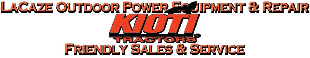 KIOTI TRACTOR Banner