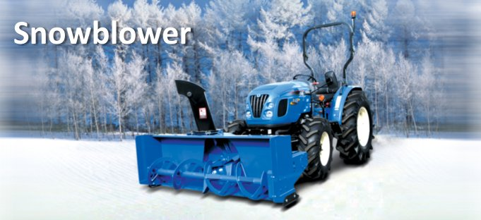 LS Tractor Snow Blower Attachment